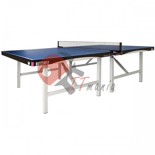 Стол теннисный Butterfly Indoor Europa 25 Blue ITTF, код: BF-T2325S