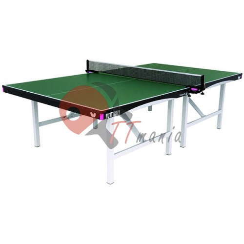Стол теннисный Butterfly Indoor Europa 25 Green ITTF, код: BF-T2325G